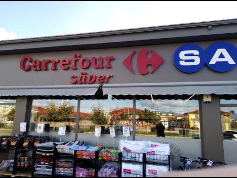 Турция магазин  * Carrefour SA *  цены на продукты обзор
