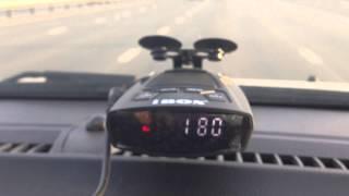 радар детектор iBOX Х10 GPS против камеры КОРДОН
