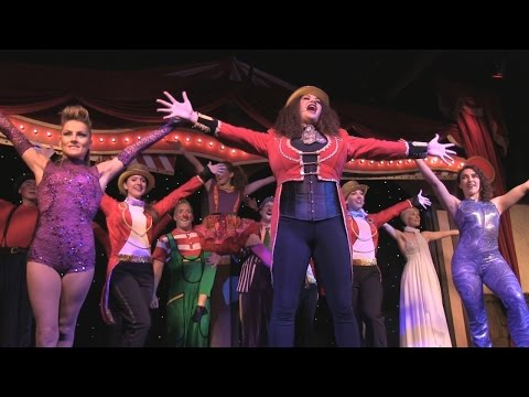The circus comes to Pirate's Town at The Cirque Magique