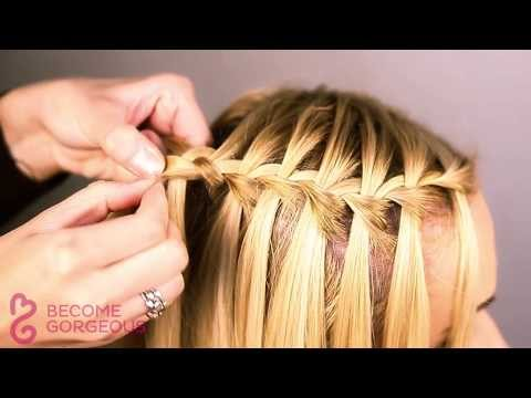 Waterfall Braid Tutorial – Become Gorgeous