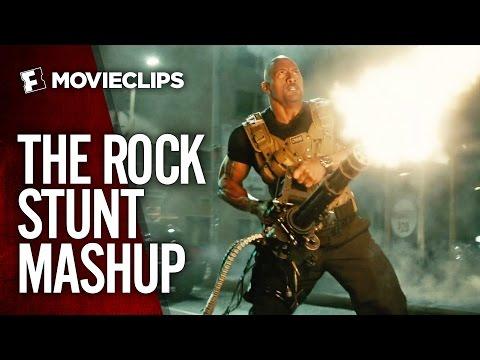 Dwayne 'The Rock' Johnson Stunt Mashup (2015) HD