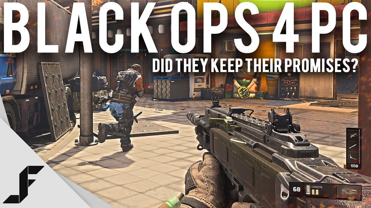 Black Ops 4 PC Did they keep their promises?