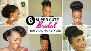 Download 2019 BRIDAL NATURAL HAIRSTYLES FOR BLACK WOMEN Mp3 and Videos