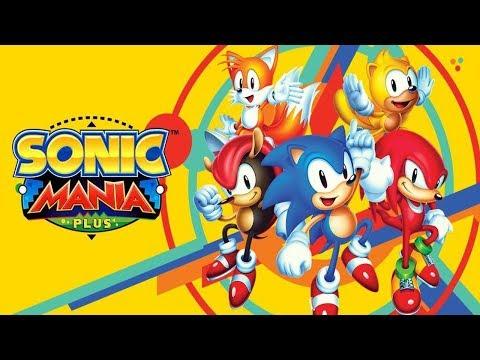 Sonic MS Mania Plus Stream