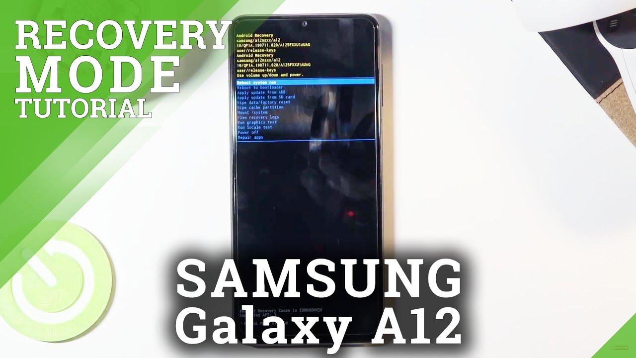 Recovery-Modus SAMSUNG Galaxy A22, Mehr anzeigen - HardReset.info