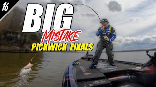 BIG MISTAKE That COST Me - Pickwick Bassmaster Elite Day 3 - Unfinished Family Business Ep.16 (4K)