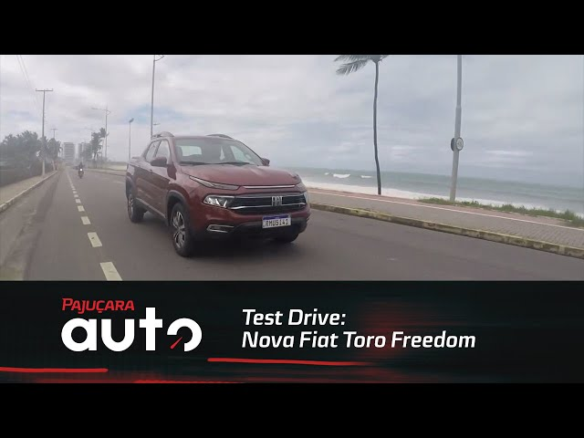 Test Drive: Nova Fiat Toro Freedom