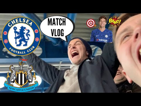 MARCOS ALONSO THE HERO! CHELSEA vs NEWCASTLE (1-0) MATCH VLOG!