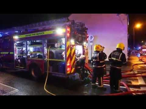 Shannon Dry Cleaners fire