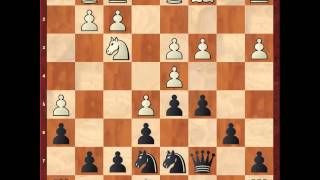 Французская защита.  Винавер, чёрными. 2 часть 7. н4 Для КМС и выше
