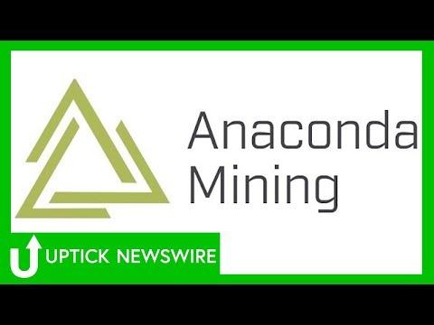 CEO Dustin Angelo Of Anaconda Mining Inc. (OTCQX: ANXGF)
