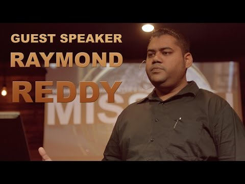Guest Speaker Raymond Reddy from Fiji