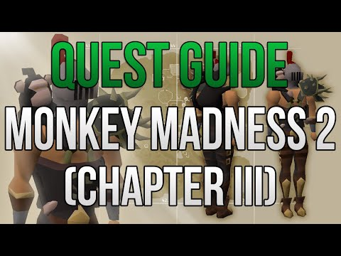 Monkey Madness 2 Quest Guide (Chapter III) - FULL Platform W