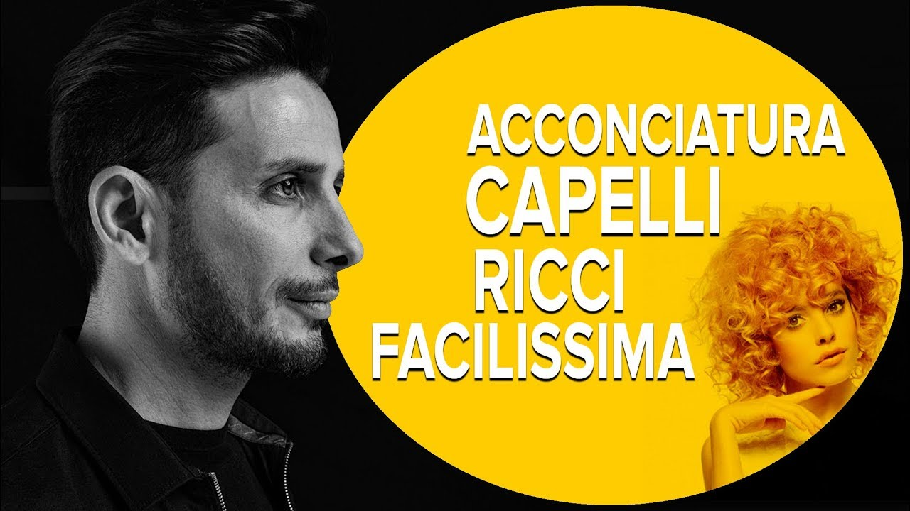 Preferenza ACCONCIATURA CAPELLI RICCI facilissima! - YouTube MF83