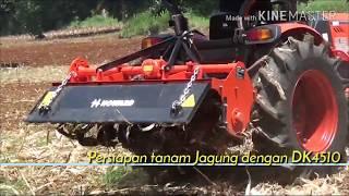 Vlog 3 3 HEBOH Mesin Canggih Alat bajak tanah Traktor Pertanian Traktor Kioti DK4510