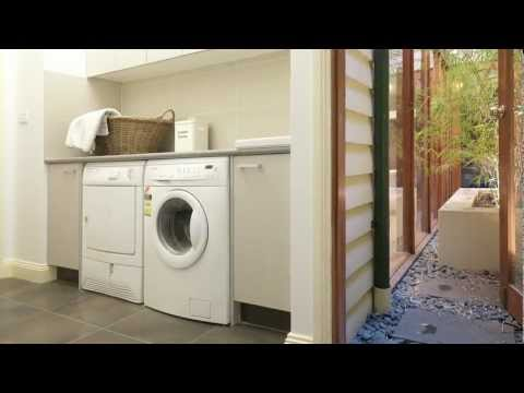 Modern laundry design has changed significantly from the small rooms of the past