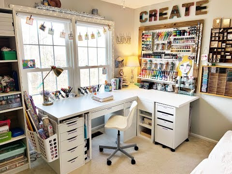 Craft Room Tour March 2019