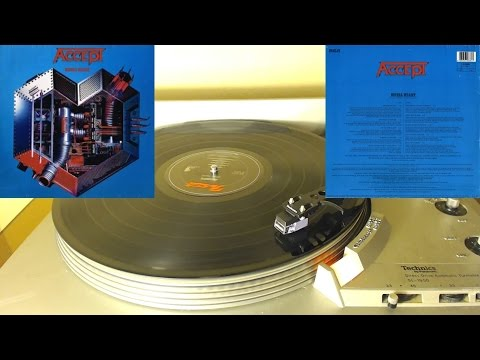 Mace Plays Vinyl - Accept - Metal Heart - Full Album