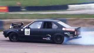 SUPERCHARGED BMW E34 - 4.0 V8 Drift Machine