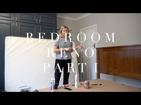 DIY Bedroom Makeover Part 1