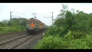 Fast & Furious Compilation of Rajdhani Express Class of Trains - Indian Railways