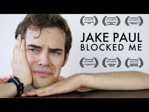Jake Paul blocked me