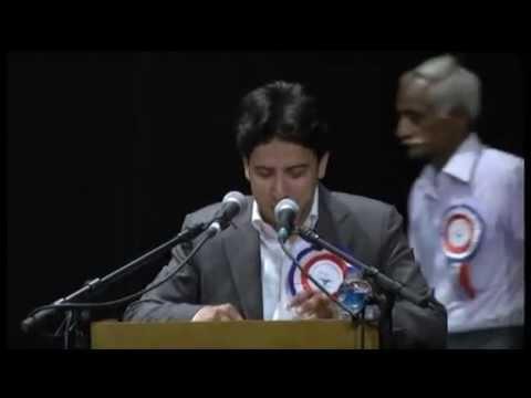 12. Nadeem Shad, Mushaira -Kavi Sammelan 2013  BAHRAIN (Sham-e-Gulzar)