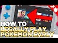 How to LEGALLY Play Pokemon Sword and Shield EARLY!