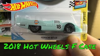2018 Hot Wheels F Case Unboxing