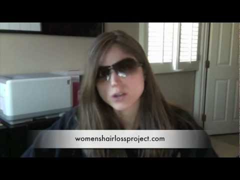 Pay Attention To The Scissors – Women's Hair Loss Project