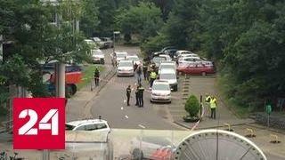 Полиция задержала мужчину, захватившего заложницу в здании радиостанции