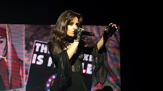 Camila Cabello - Something's Gotta Give (Never Be The Same Tour, Vancouver)