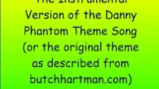 The Instrumental Version of Danny Phantom Theme!