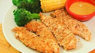 Healthy Bodybuilding Chicken Strips