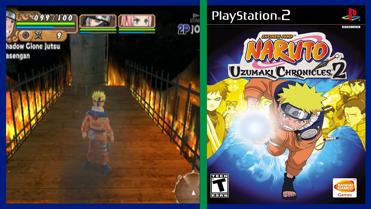 naruto uzumaki chronicles 3 ps2