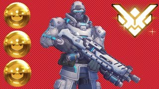 Grand Master Overwatch w/ Soldier 76 (64% Kill Participation)