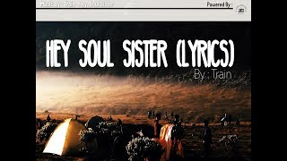 Train - Hey Soul Sister (Lyrics) Inspirasi petualangan di GUNUNG GEDE