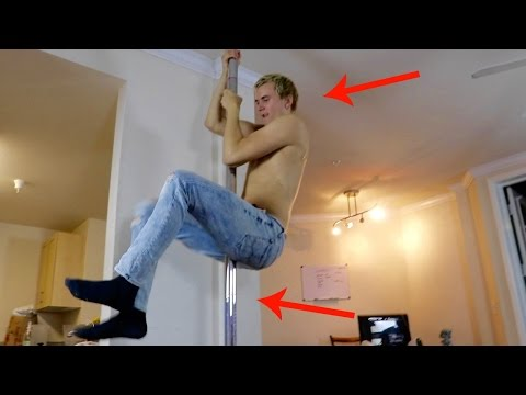 Thumbnail: HE PUT A STRIPPER POLE IN OUR APARTMENT!!