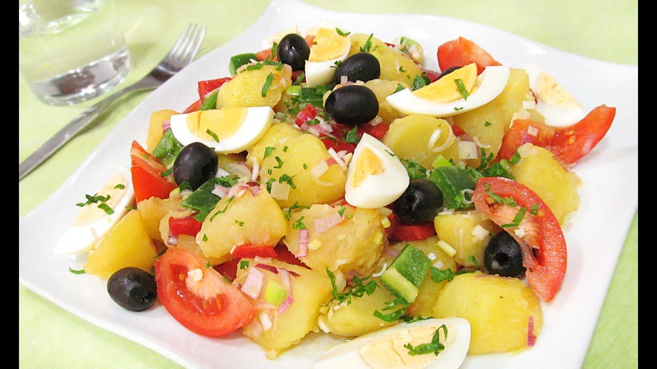 Ensalada campera tradicional recetas de ensaladas youtube for Cocinar con 5 ingredientes