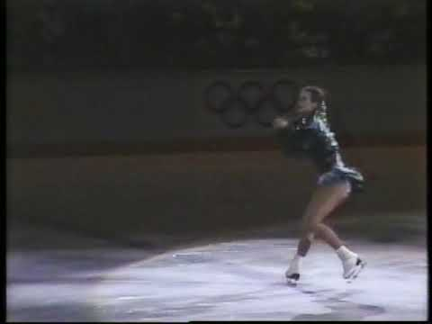 Katarina Witt (GDR) - 1988 Calgary, Figure Skating, Exhibitions (Encore)