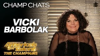 Comedian Vicki Barbolak Talks Life Changes After AGT - America's Got Talent: The Champions