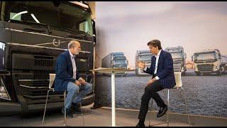Entrevista con Giovanni Bruno, Director General de Volvo Trucks entrevistado por Javier Baranda