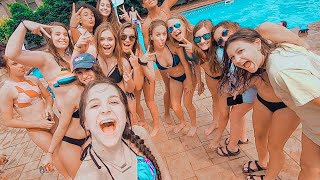 last day of school & huge pool party !!!