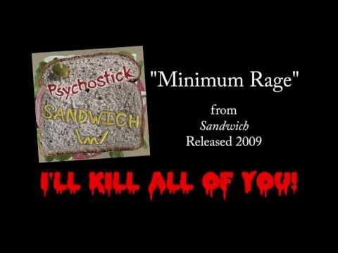 Minimum Rage + LYRICS [Official] by PSYCHOSTICK