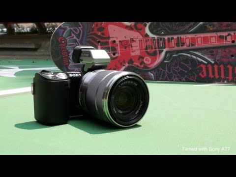Sony NEX 5N - what's new? (Filmed with A77)