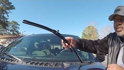 How to change wipers on 2016 F150