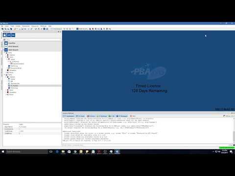 PBA pro 2 73 AFDX VL Activity UI Reassembly False Test 03 AD