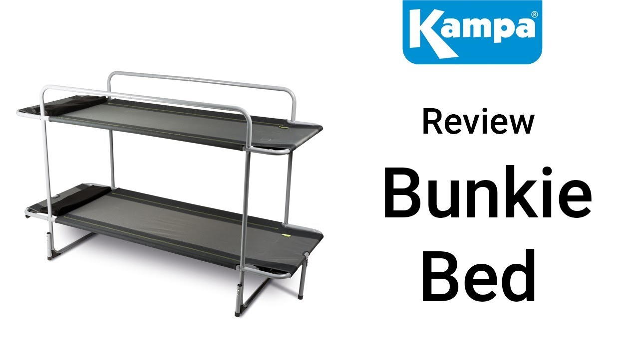 Kampa Bunkie Bed Youtube
