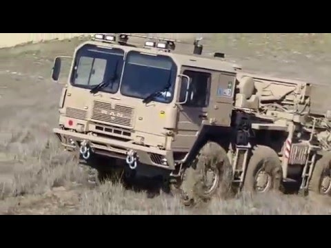 SUPER OFF ROAD MAN 8X8 1013 TRUCK