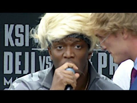 [FULL VIDEO] KSI VS. LOGAN PAUL PRESS CONFERENCE! **insanity